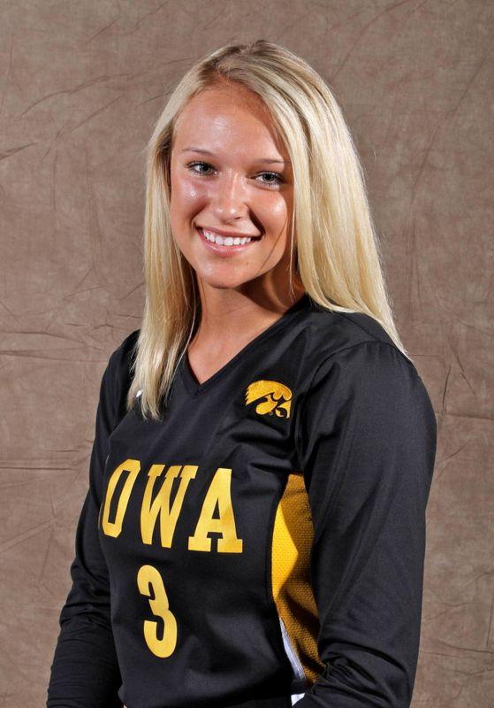 Mallory Husz - Volleyball - University of Iowa Athletics