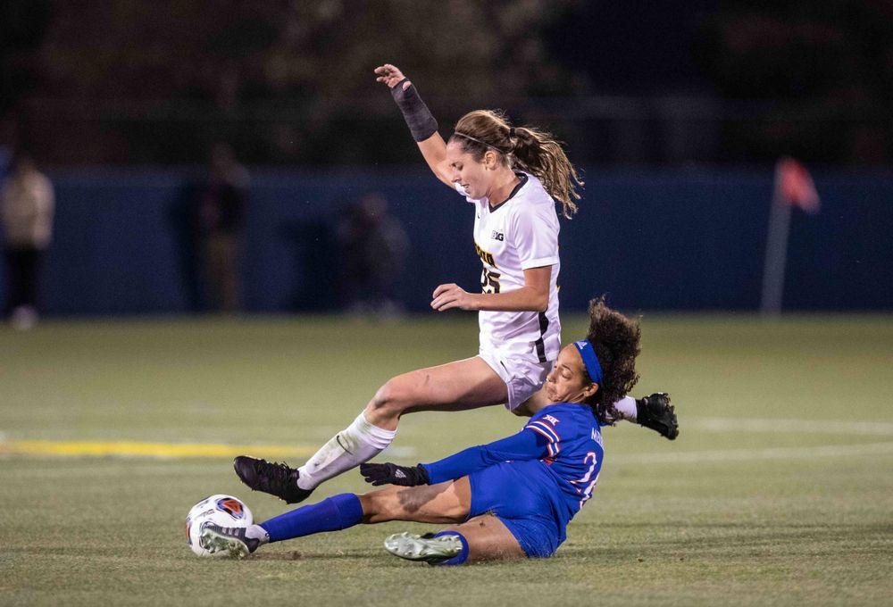Josie Durr NCAA Tournament Iowa at Kansas Nov. 16, 2019