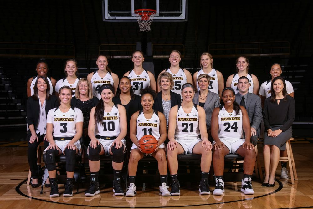 during the team's annual media day Wednesday, October 31, 2018 at Carver-Hawkeye Arena. (Brian Ray/hawkeyesports.com)