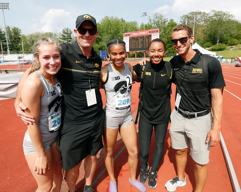 Big Ten Track and Field Championships at Robert C. Haugh Complex on May 13, 2018, in Bloomington, Indiana. (Darren Miller/hawkeyesports)