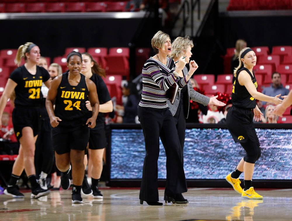 Iowa Hawkeyes associate head coach Jan Jensen