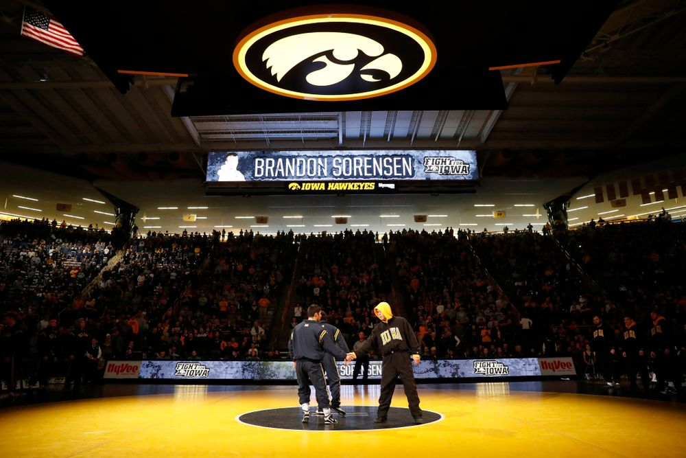 Iowa's Brandon Sorensen