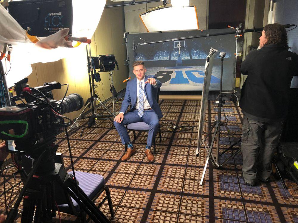Jordan Bohannon Big Ten Men's Basketball Media Day