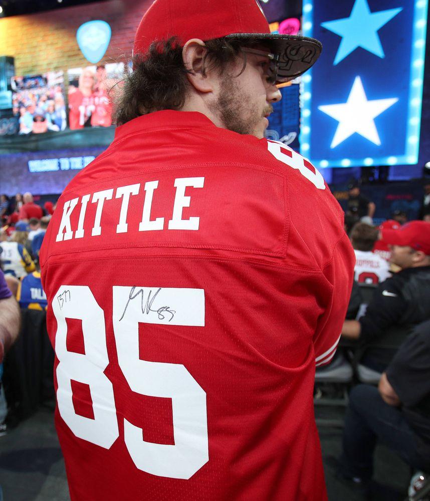George Kittle fan