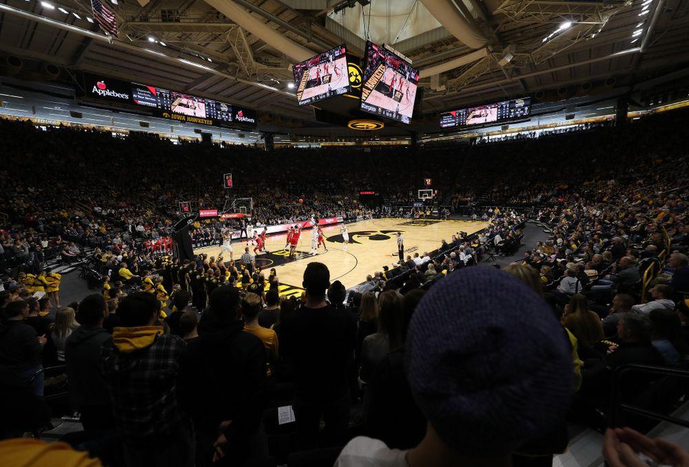 The Iowa Hawkeyes against the Ohio State Buckeyes Saturday, January 12, 2019 at Carver-Hawkeye Arena. (Brian Ray/hawkeyesports.com)