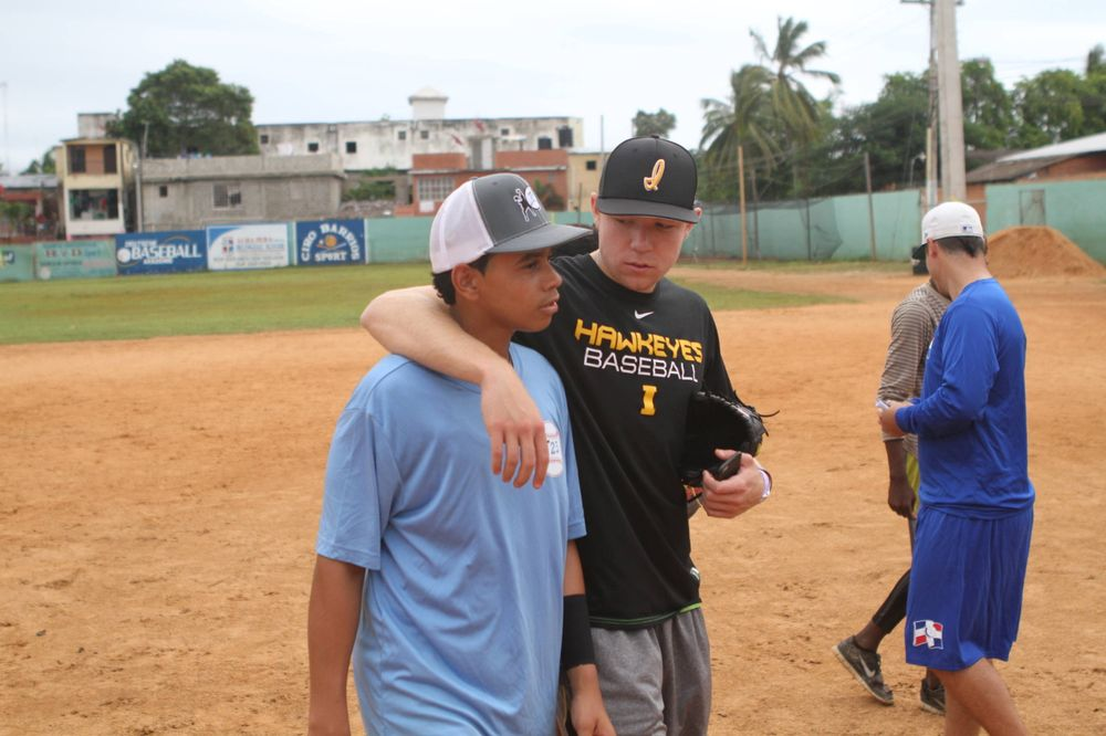 Nick Gallagher Kid's Clinic Boca Chica, D.R. Photo: James Allan
