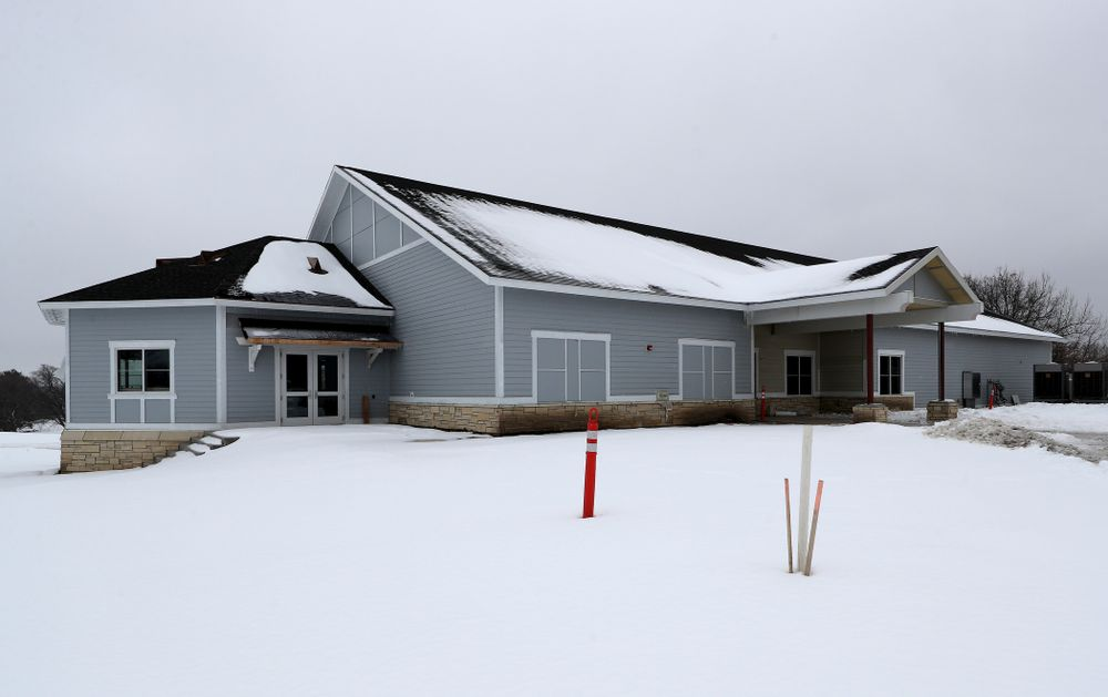 The Nagle Family Clubhouse Tuesday, January 28, 2020 at Finkbine Golf Course in Iowa City. (Brian Ray/hawkeyesports.com)