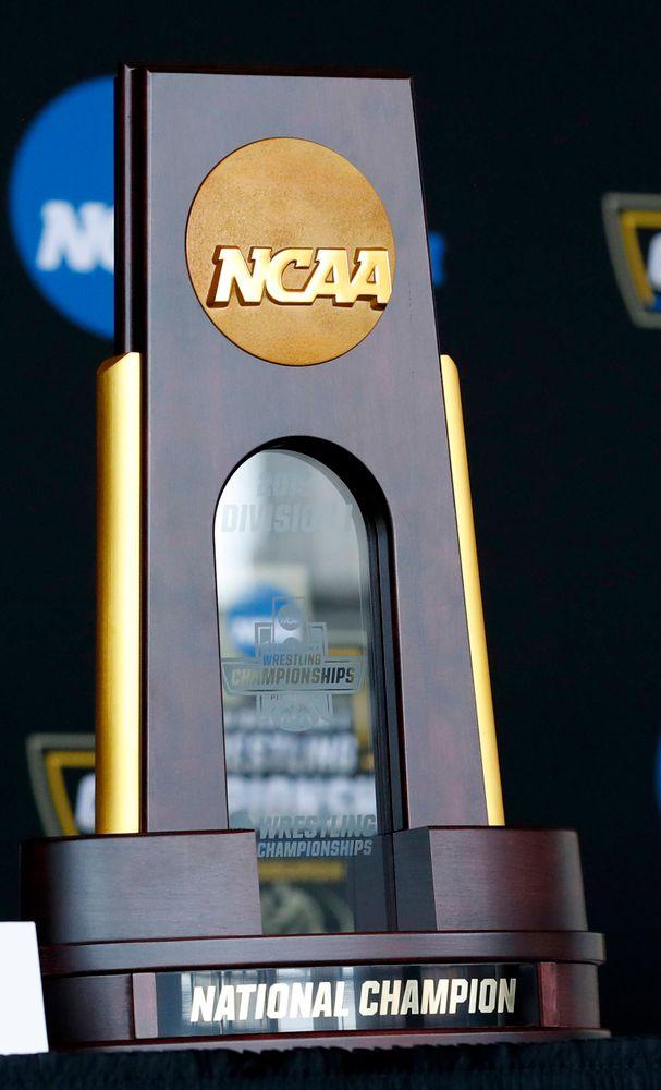 NCAA team championship trophy