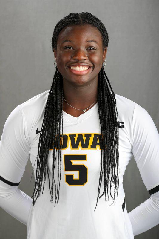 Toyosi Onabanjo - Volleyball - University of Iowa Athletics