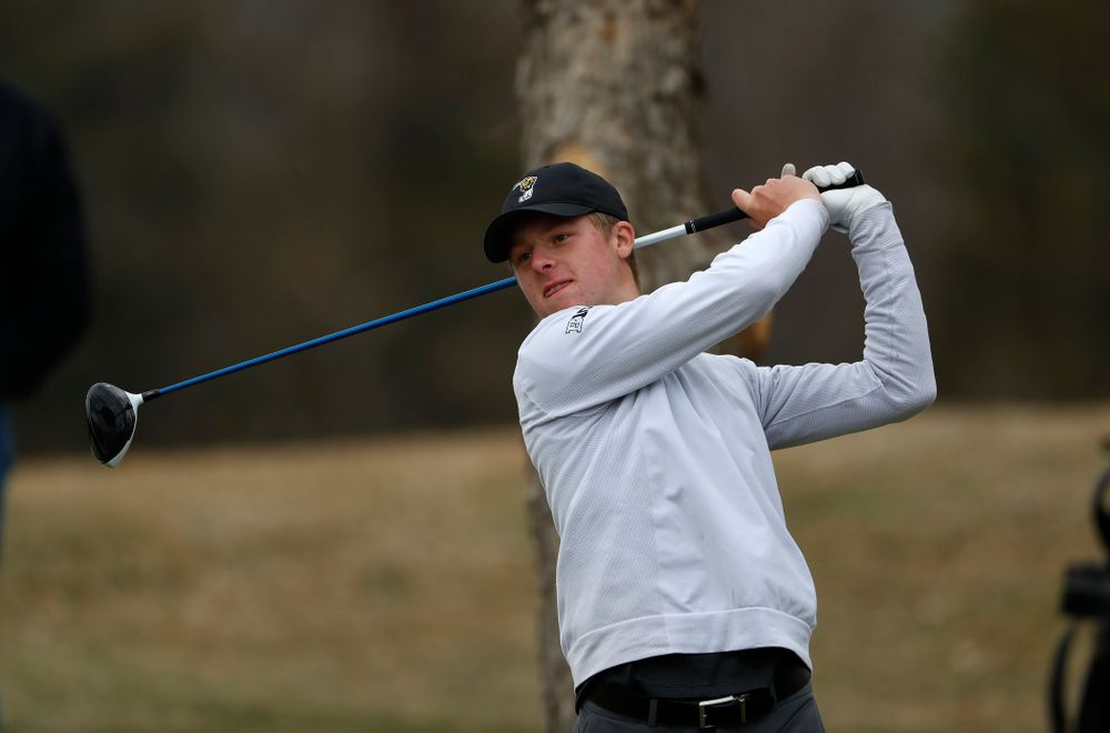 Benton Weinberg during the 2018 Hawkeye Invitational  Friday, April 13, 2018 at Finkbine Golf Course. (Brian Ray/hawkeyesports.com)