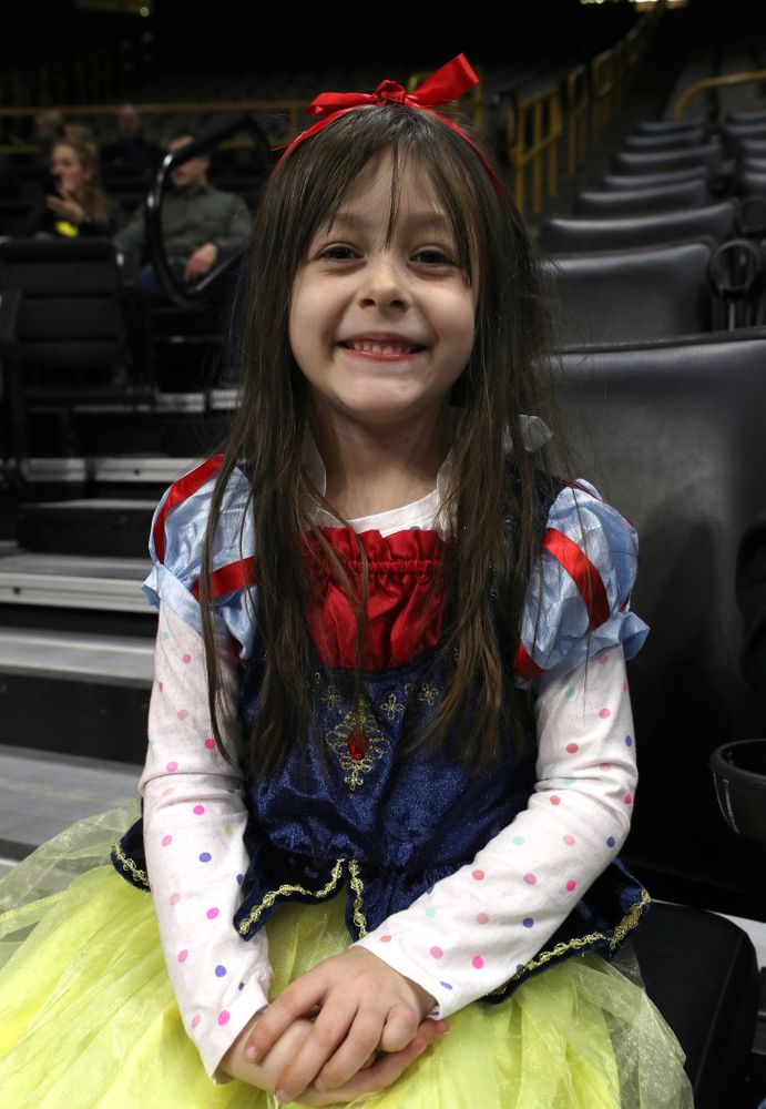 Princess and Heroes night against Illinois Saturday, February 16, 2019 at Carver-Hawkeye Arena. (Brian Ray/hawkeyesports.com)