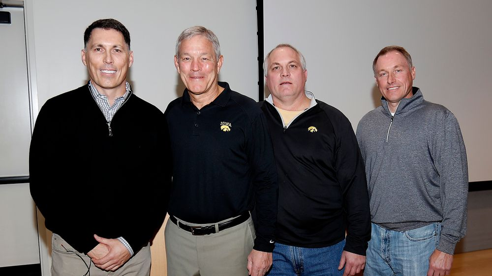 Jim Reilly, Kirk Ferentz, Bob Reilly, Steve Reilly