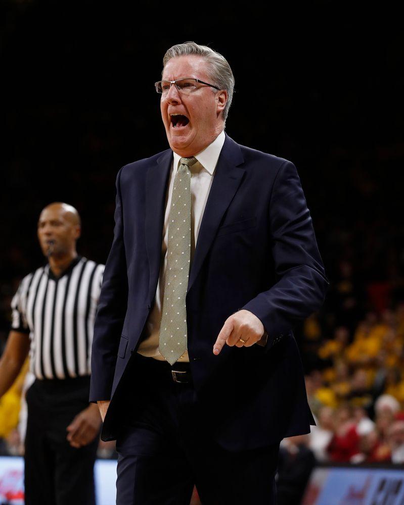 Iowa Hawkeyes head coach Fran McCaffery