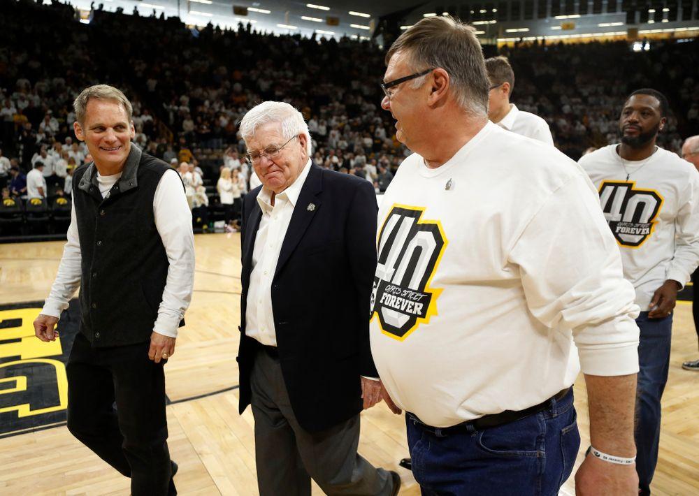 Mike Street and former head coach Tom Davis