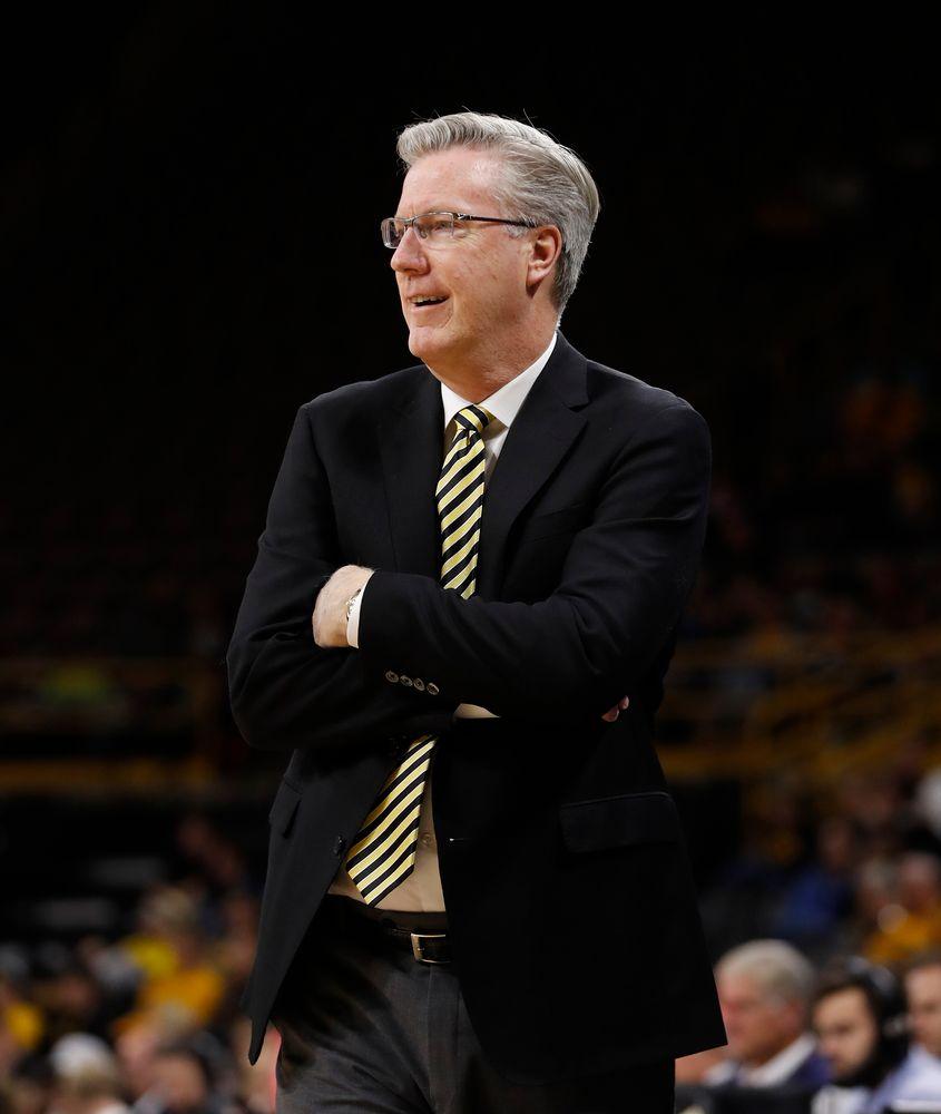 Head coach Fran McCaffery