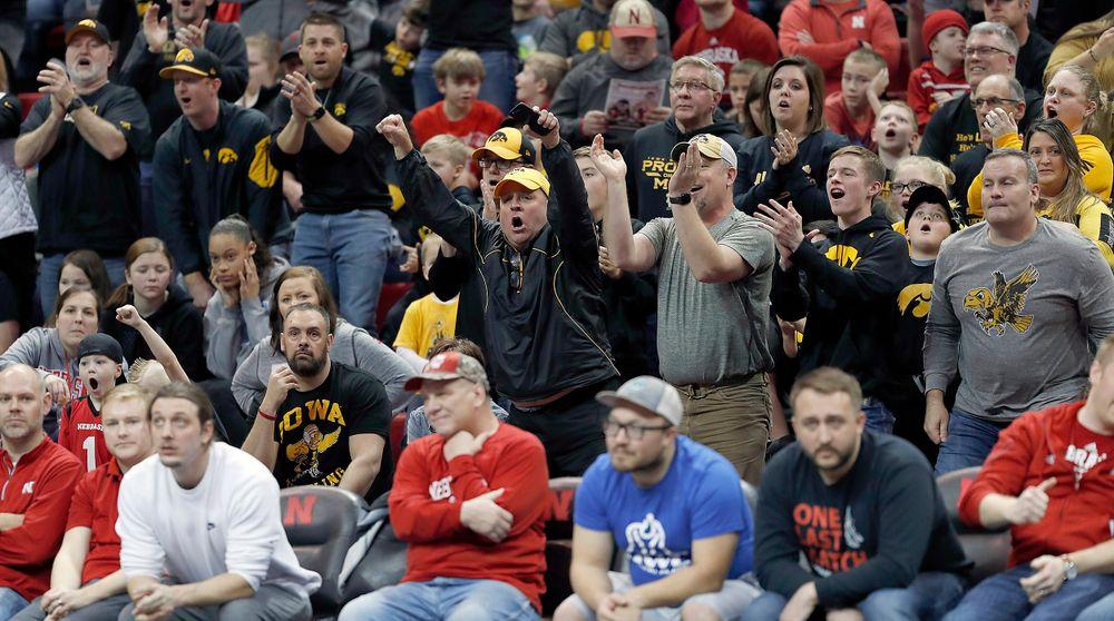 Hawkeye fans invade the Devaney Center