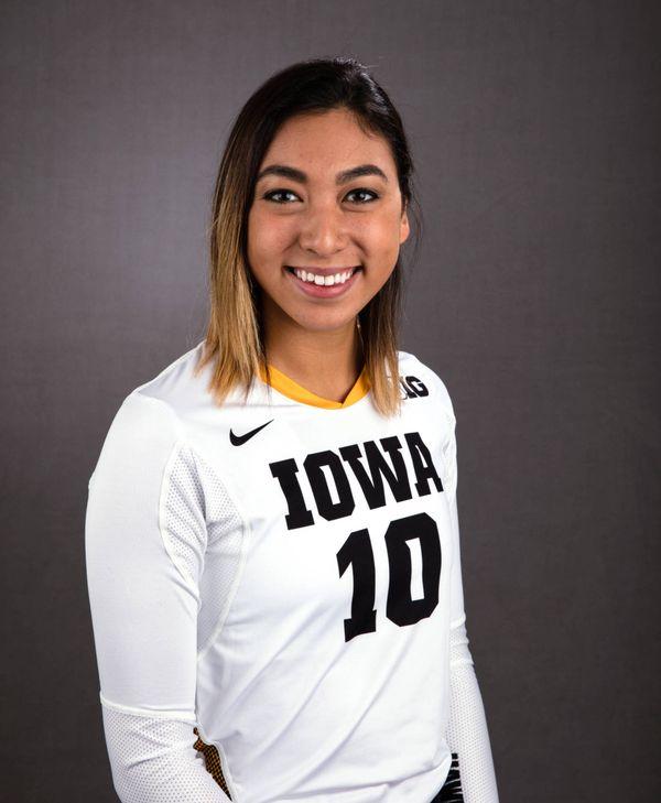 Loxley Keala - Volleyball - University of Iowa Athletics
