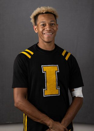 Jalen Wilkins - Spirit - University of Iowa Athletics