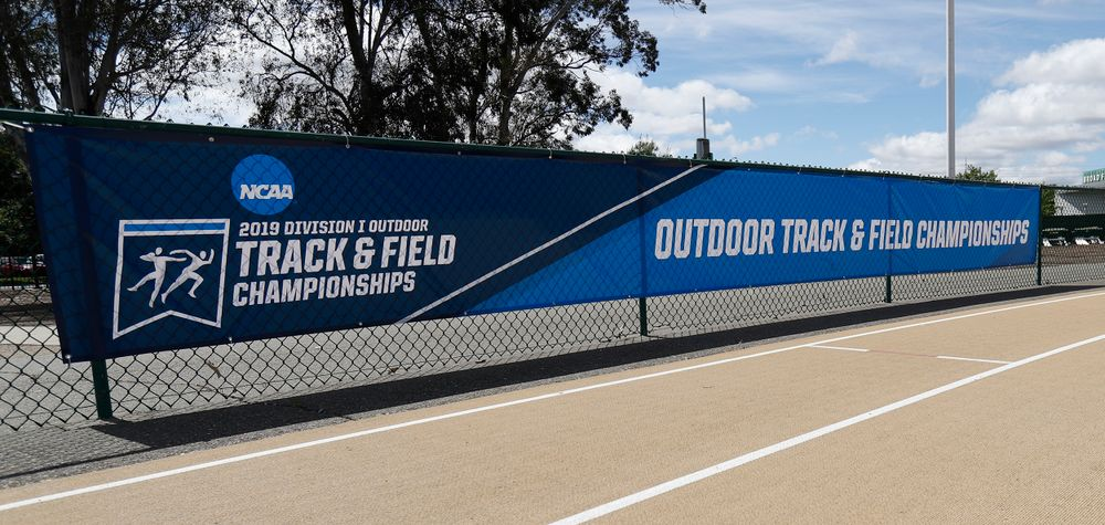 Practice Day for NCAA West Preliminary track and field at Hornet Stadium in Sacramento, California.