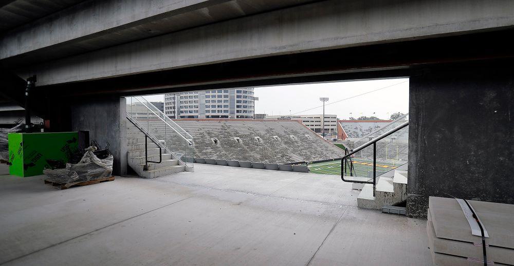 North End Zone of Kinnick Stadium