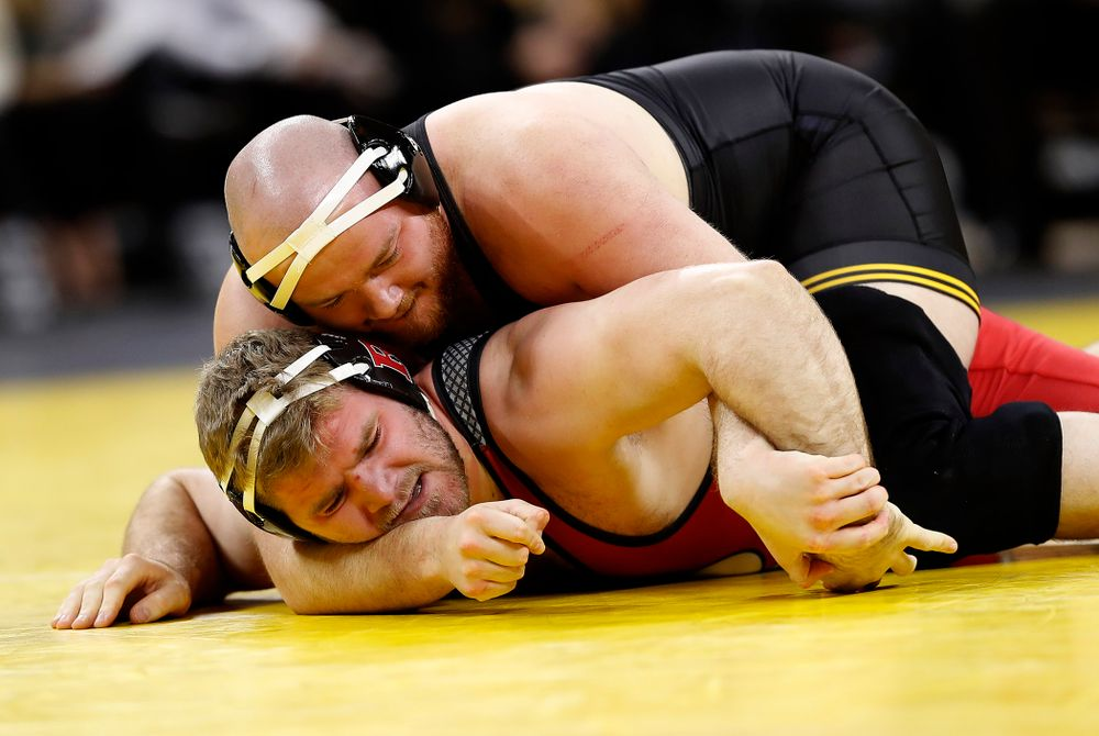 Sam Stoll (Darren Miller/hawkeyesports.com)