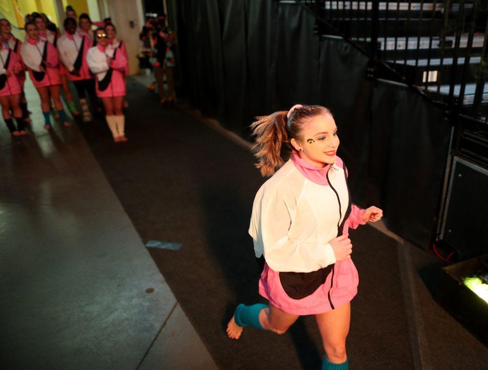 Lauren Guerin against Michigan Friday, February 14, 2020 at Carver-Hawkeye Arena. (Brian Ray/hawkeyesports.com)