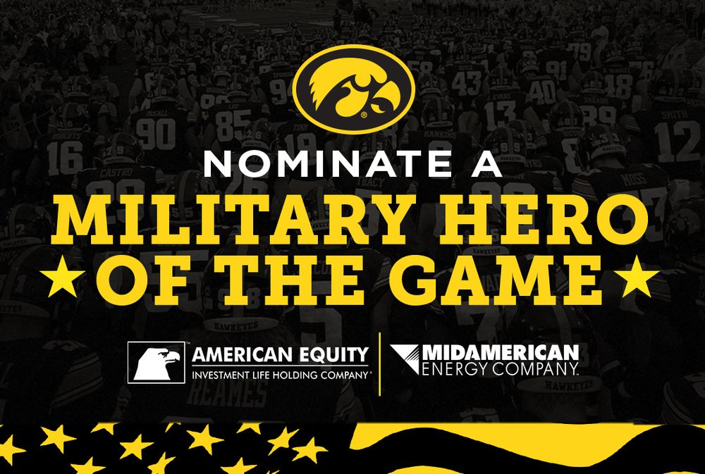 Nominate a Military Hero of the Game