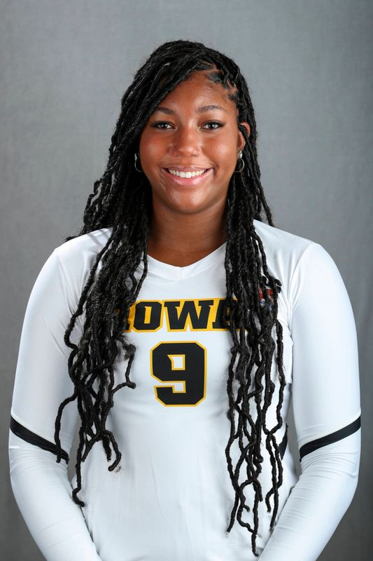 Amiya Jones - Volleyball - University of Iowa Athletics
