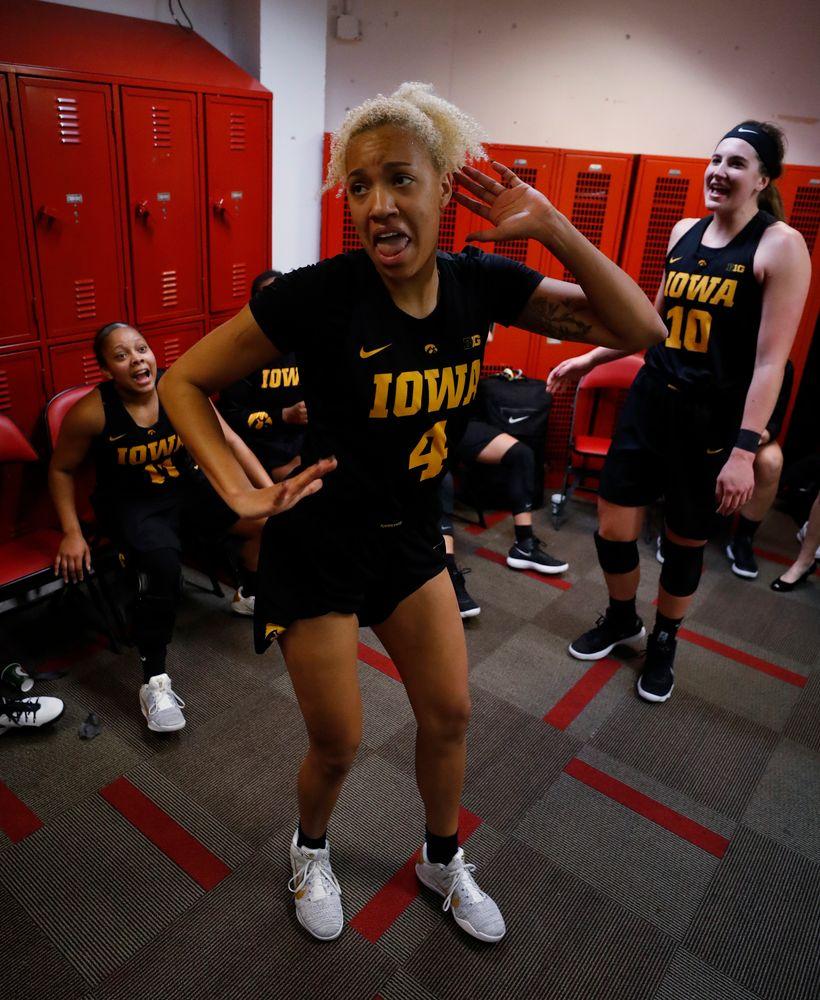 Iowa Hawkeyes forward Chase Coley (4)