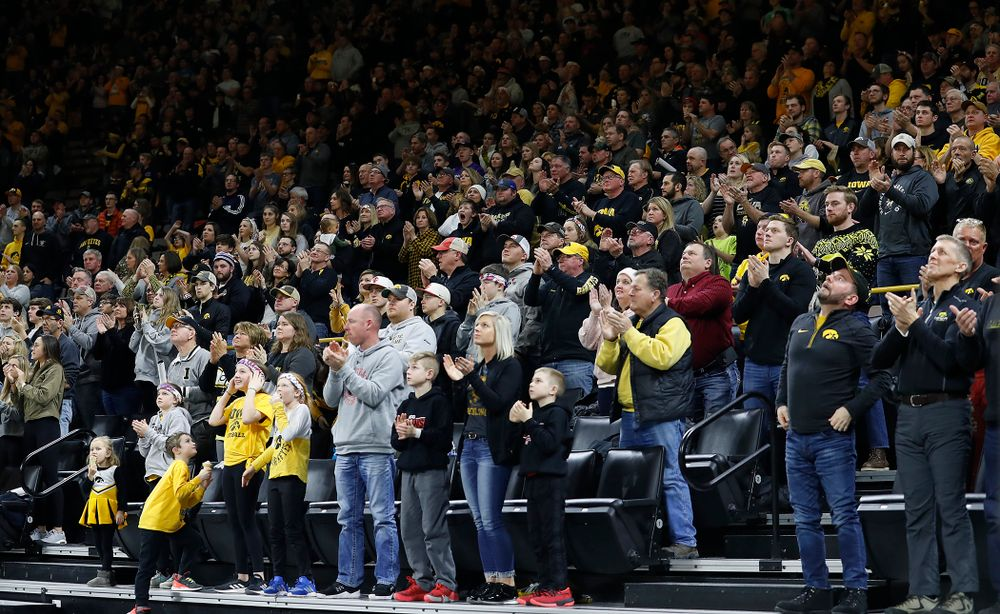Another packed house in Carver-Hawkeye Arena