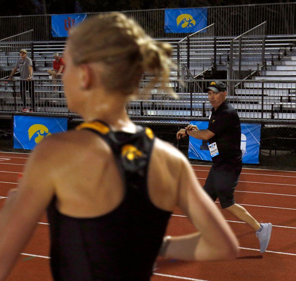 Andrea Shine, Coach Randy Hasenbank