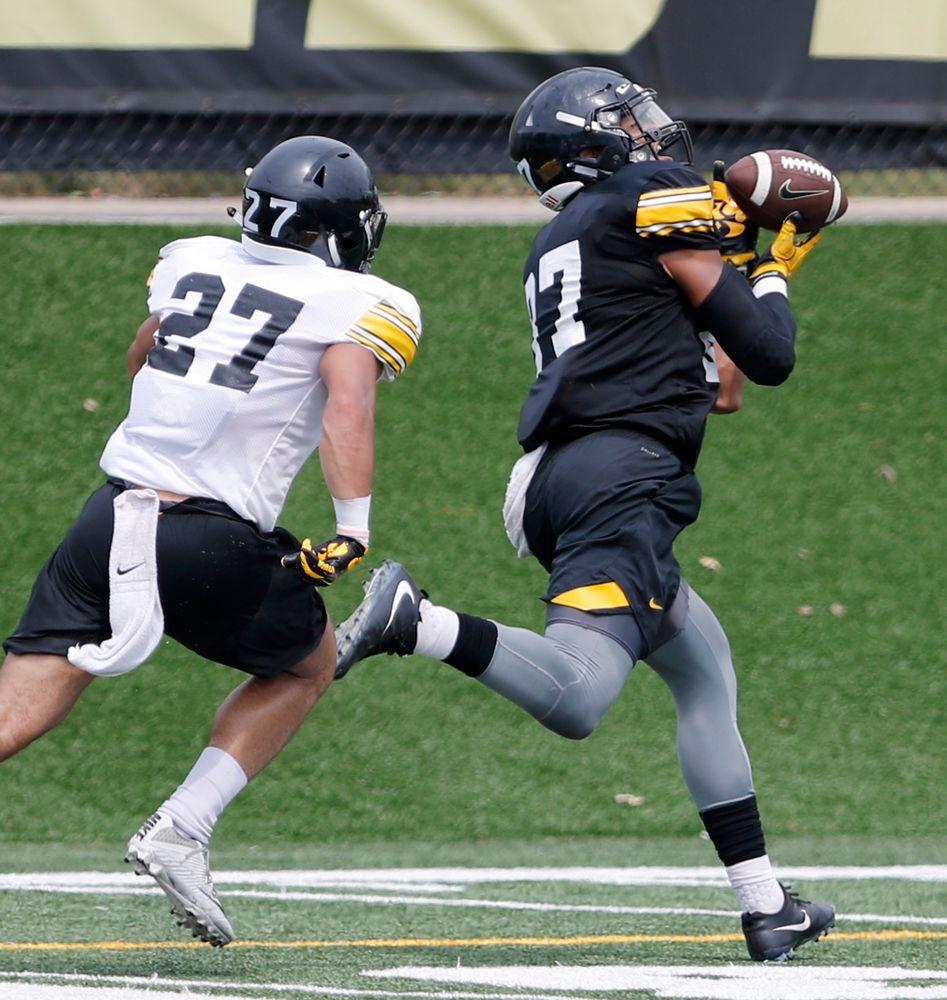 Noah Fant for a touchdown