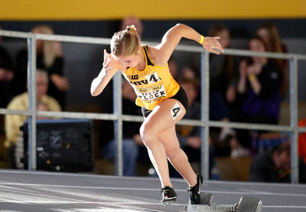 Sarah Plock competes in the 400 meters