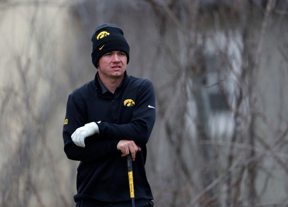 Alex Moorman during the 2018 Hawkeye Invitational  Friday, April 13, 2018 at Finkbine Golf Course. (Brian Ray/hawkeyesports.com)