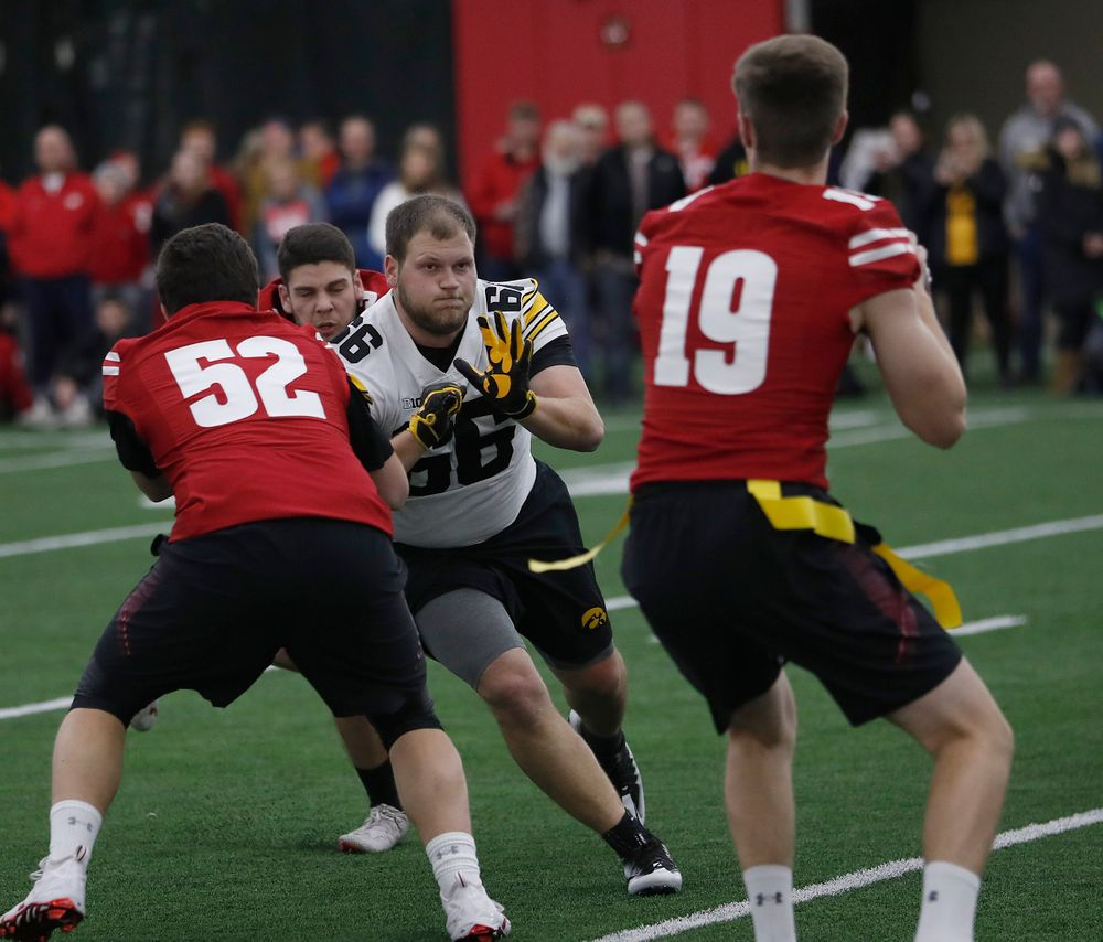 The Hawkeye football managers capture the rusty toolbox for the first time since 2008 with a 20-19 double The Hawkeye Football Managers captured the rusty toolbox for the first time since 2008 with a 20-19 double overtime win against the Wisconsin football managers on Nov. 8 in Madison, Wisconsin.