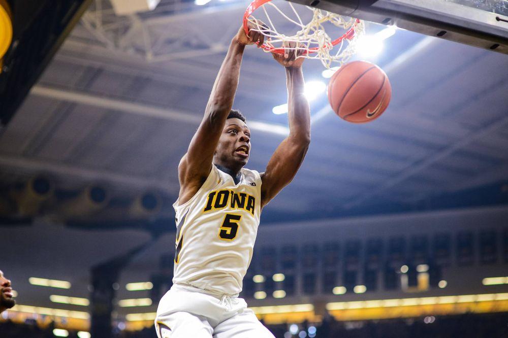 Tyler Cook Iowa 86, Michigan 83 Jan. 1, 2017