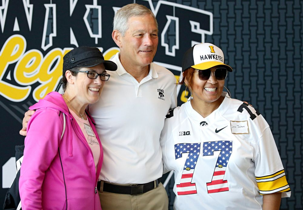 The Ladies Football Academy at the Hansen Football Performance Center in Iowa City on Saturday, Jun 8, 2019. (Stephen Mally/hawkeyesports.com)