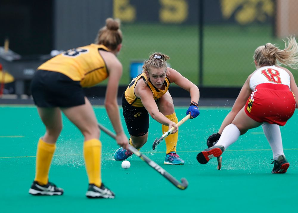Iowa Hawkeyes Katie Birch (11) against Maryland Sunday, October 14, 2018 at Grant Field. (Brian Ray/hawkeyesports.com)