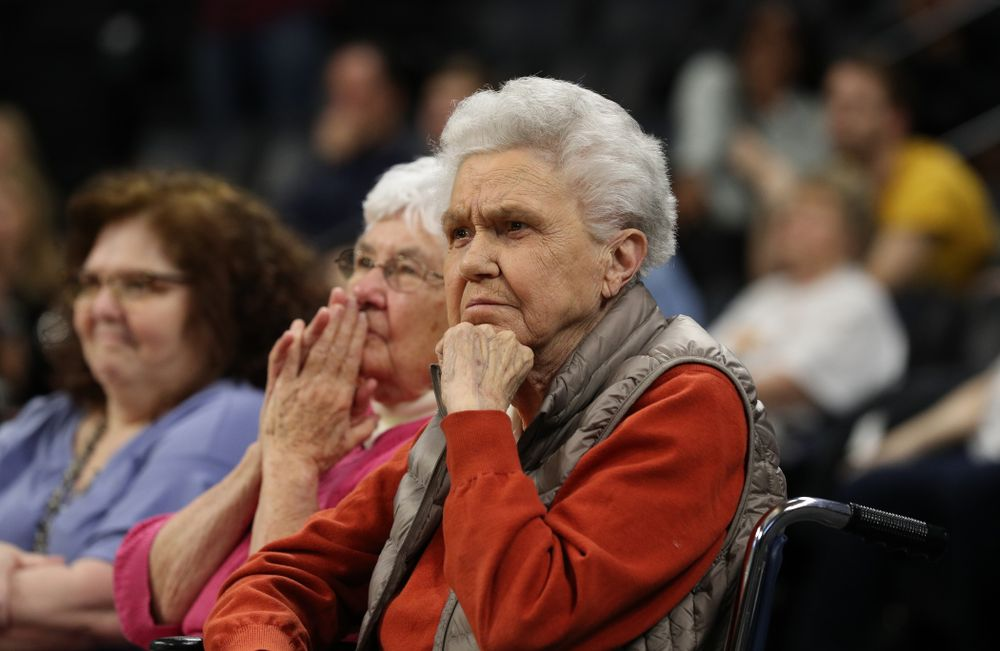 Dr. Christine Grant during the Iowa WomenÕs Basketball  Celebr-Eight event Wednesday, April 24, 2019 at Carver-Hawkeye Arena. (Brian Ray/hawkeyesports.com)