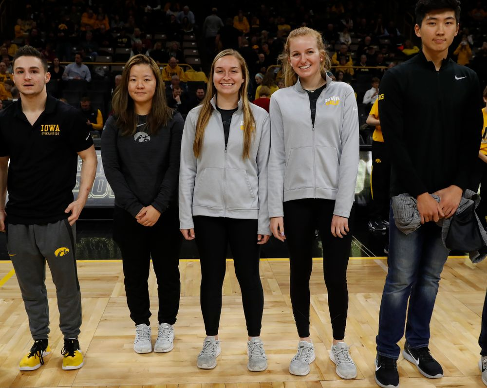 Iowa Women's Golf during the PCA recognition