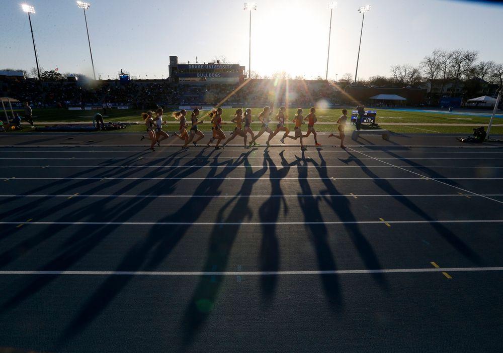 Women's 1500-meter run