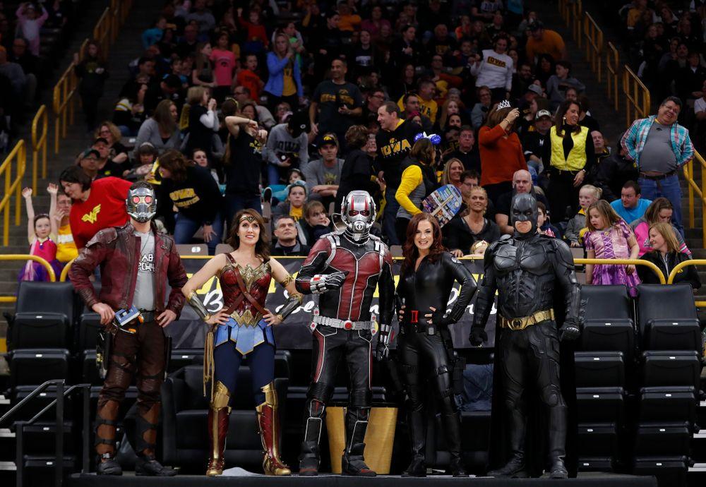 The Super Heroes against the Nebraska Cornhuskers