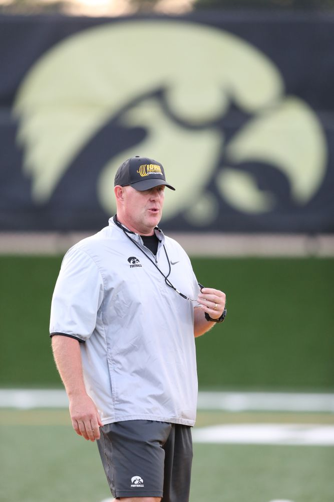 Iowa Strength and Conditioning Coach Chris Doyle