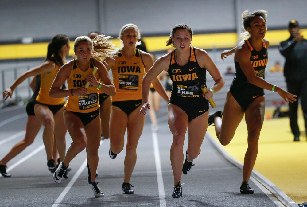 Iowa's Addie Swanson and Jenny Kimbro