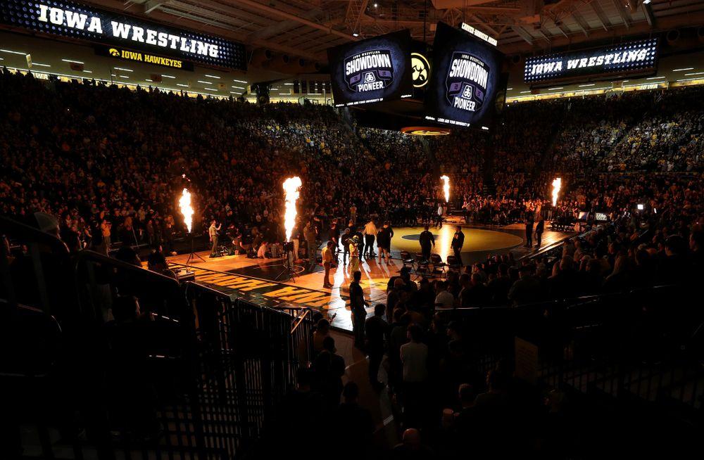 The Iowa Hawkeyes wrestle Penn State Friday, January 31, 2020 at Carver-Hawkeye Arena. (Brian Ray/hawkeyesports.com)
