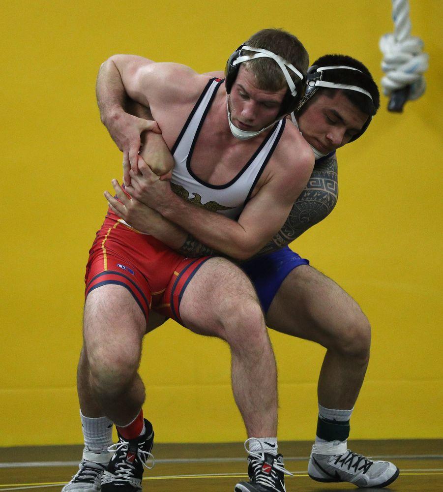 149 -- Pat Lugo major dec. Zach Axmear, 14-3