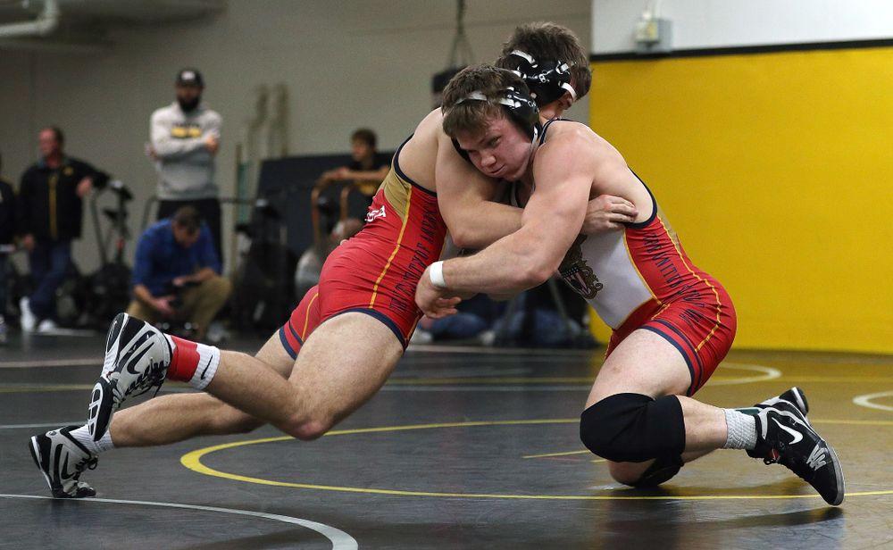 197 -- Connor Corbin dec. Cade Brownlee, 3-2