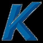 Blue K logo