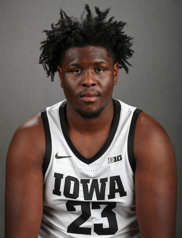 Josh Ogundele - Men's Basketball - University of Iowa Athletics