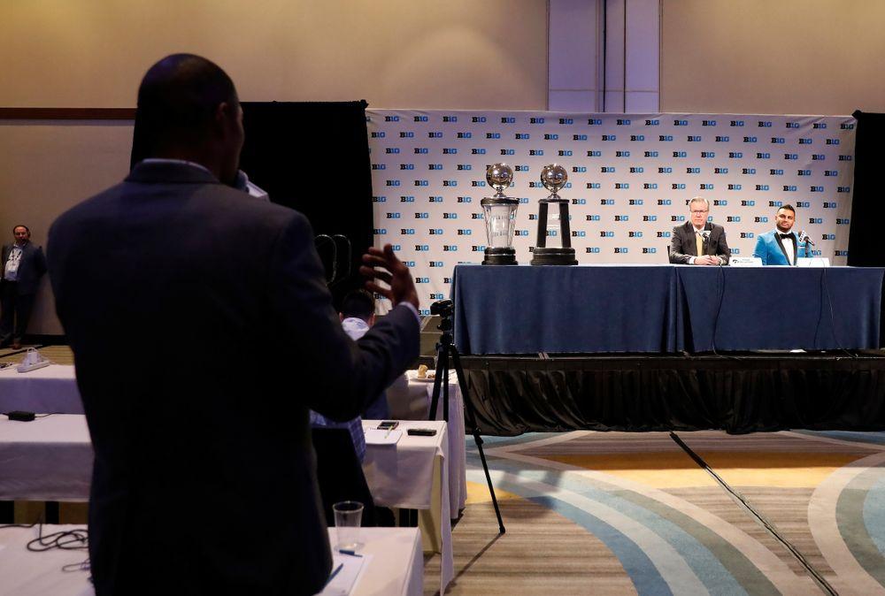 Fran McCaffery 2018-19 Big Ten Men's Basketball Media Day Steve Woltmann/Big Ten Conference